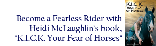 Heidi McLaughlin, Fearless Rider and Confidence
