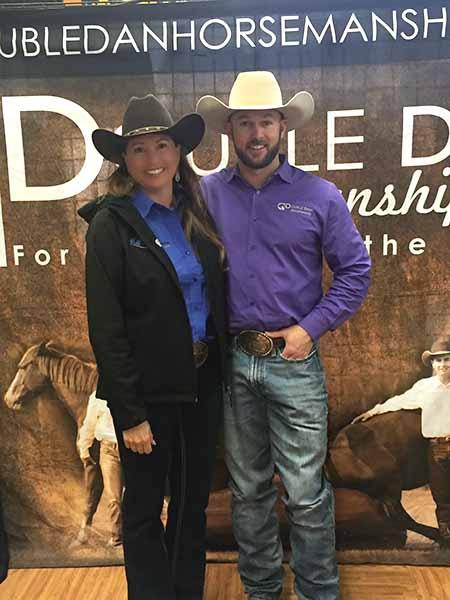 Heidi McLaughlin and Dan James of Double Dan Horsemanship.jpg