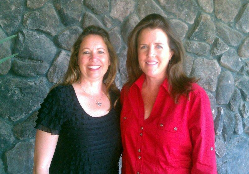 Heidi McLaughlin and Karen Scholl